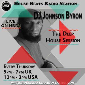 DJ Johnson Byron Presents The Deep House Session Live On HBRS 10- 12 -20