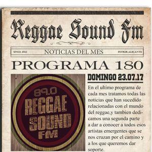180º Programa ReggaeSoundFm 23.07.2017