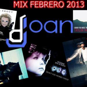 Dj Joan - Mix Febrero 2013