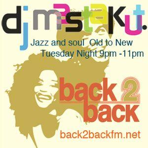 2016/06/21 DJ Mastakut Show on Back2Back fm.net