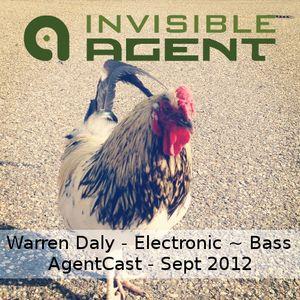 Warren Daly - Electronic ~ Bass - AgentCast - September 2012