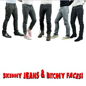 SKINNY JEANS & BITCHY FACES! - V@LeRiC cut&paste
