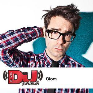 Giom's DJ Mag Podcast - May 2012