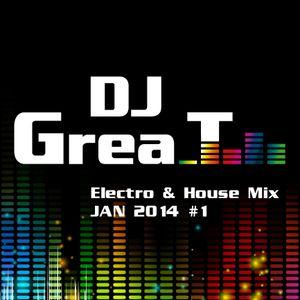DJ Grea_T - Electro & House Mix Jan 2014 #1 (01012014)