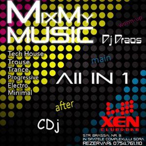 All IN 1 live dj set @ XEN Club feb 2012