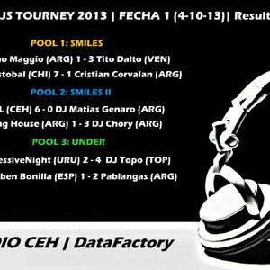 Pablangas @ CEH DJS Tourney 2013 (Fecha 01)