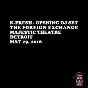 Opening DJ Set - The Foreign Exchange, Majestic Theatre, May 29th, 2016