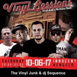 the Vinyl Junk & dj Sequence // Eastside Vinyl Sessions #4 // 10th June '17 // Innocent // Hengelo