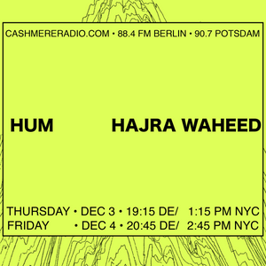 INFO Unltd Hajra Waheed on 'Hum' and Abolitionist Modes of Listening