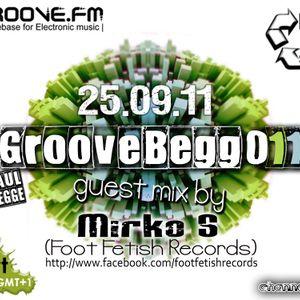 Mirko S. Exclusive Techno Set @ Groovebegg 011 ( 25.09.2011)