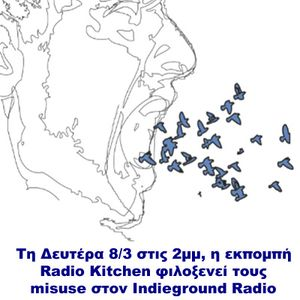 Radio Kitchen show-Interview with the band 'misuse' in 15-03-10 @ Indieground Radi0