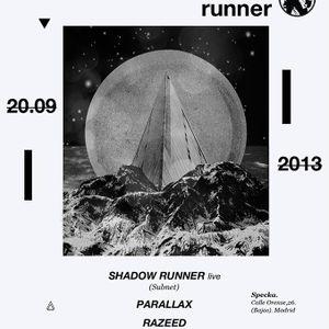 Shadow Runner Live! @ Geométrika FM, Specka [20.09.2013]