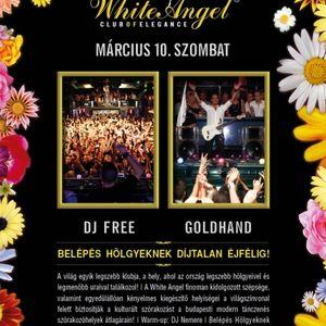 Nemere & Dj Free & Goldhand - Live @ White Angel Budapest 2012.03.10.