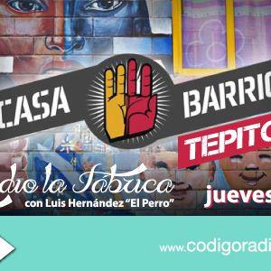 """Radio la Fábrica entrevista a """"Casa Barrio Tepito"""" programa transmitido el día 7 de Septiembre 2017"""