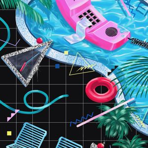Poolside Synergy // Lush Waves