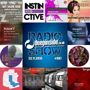 DEEPINSIDE RADIO SHOW 087 (Namy Artist of the week)