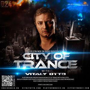 TranceMission | Radio Record - Vitaly Otto - City of Trance #024