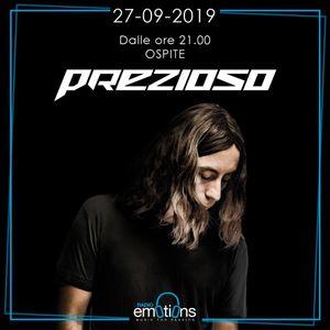 27.09.2019 - Ospite GIORGIO PREZIOSO
