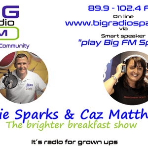 The Breakfast show with Richie & Caz 25th Jan 2021