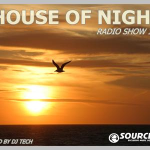 HOUSE OF NIGHT RADIO SHOW 168 MIXED BY DJ TECH 29-07-2017