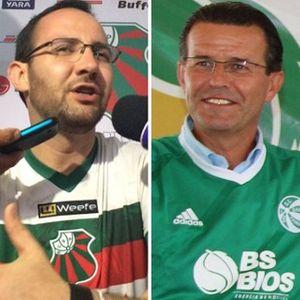 07/04/2016 Quinta-feira | Vítor Magalhães (São Paulo-RG) e Gilmar Rosso (Gaúcho-PF)