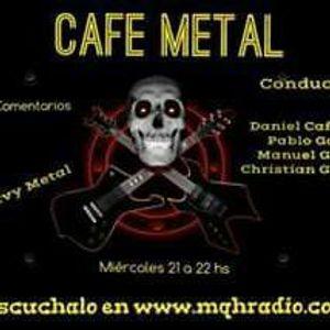 Programa numero 35 de Cafe Metal con la presencia de VILLALOBOS!!!!
