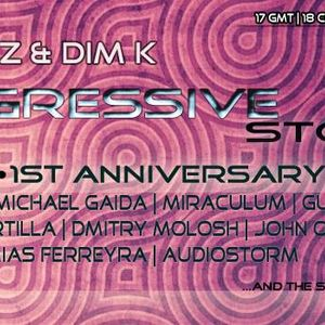 Dim K - Progressive Stories 012 (1st Anniversary Show) [Jan 10 2014] on Pure.FM