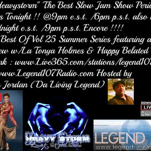 The Heavystorm Show The Best Of Vol 25 W/ La Tonya Holmes Special Guest Women Of Soul Series