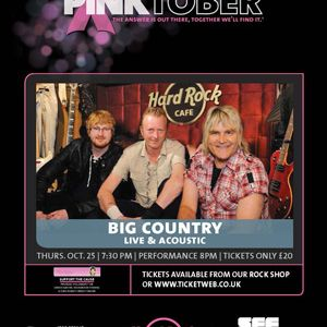 Interview with Brant Coulter Hard Rock Cafe Director and huge Big Country Fan.