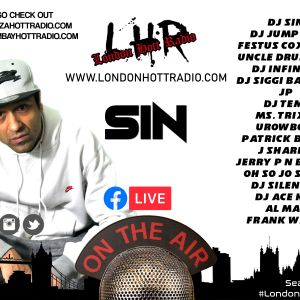 #DjSIN #Dancehall #Cypher 20/02/21 ON WWW.LONDONHOTTRADIO.COM