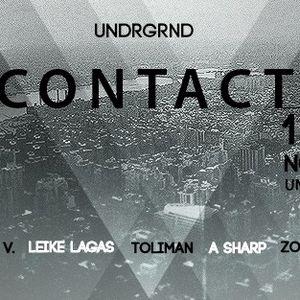 Toliman 11/11/16 Prjct Undrgrnd meets Contact