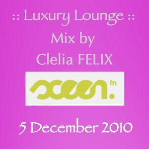 Clelia FELIX - Luxury Lounge - Sceenfm - December 5