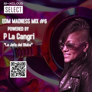EDM MADNESS MIX #6 POWERED BY P LA CANGRI LA JEFA DEL BLOKE