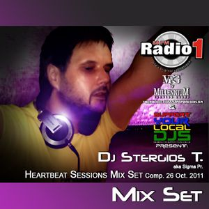 Dj Stergios T. aka Sigma Pr - The Heartbeat Sessions 26 Octo.2011 Mixed Set @ Radio 1