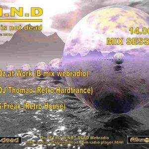 OZ@Work (B-Mix) - Set #1 for Retro Is Not Dead Webradio
