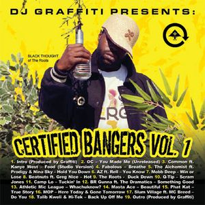 DJ Graffiti - Certified Bangers Vol. 1