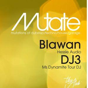 MUTATE 001: Blawan + DJ 3 (Snifit's teaser mix)