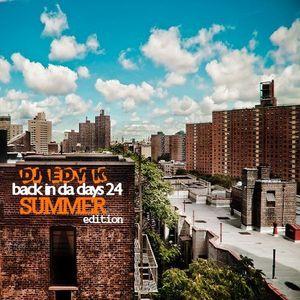 DJ EDY K - Back In Da Days Vol.24 (Summer Edition 3) 90s Hip Hop,Boom,Jamal,The Pharcyde...