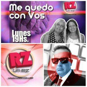 ESNAOLA! musicaliza en #MeQuedoconVos #LaRZRadio #HnasVitale 6/03/2017