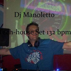 Dj Manoletto Podcast Tech-house Octobre 2015