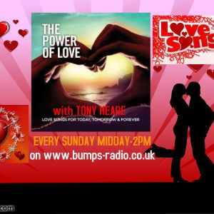 'The Power Of Love' broadcast Sunday April 6th 2014 on Bumps Radio.