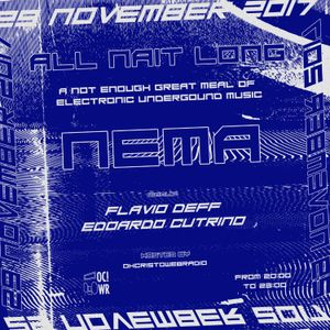 All Nait Long Edo Cutrino - Nema - Flavio Deff 29.11.2017