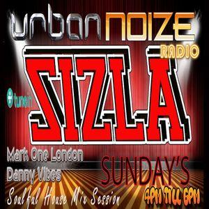 Urban Noize Radio Sizla Sunday's 14-01-2018 Mark One London Soulful House Mix Live