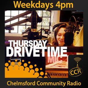 Thursday Drivetime - @CCRDrivetime - Emily Graves - 14/08/14 - Chelmsford Community Radio