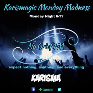 Karisma Presents... The Monday Takeover On No Grief Fm (halloween/birthday night) 31/10/2016