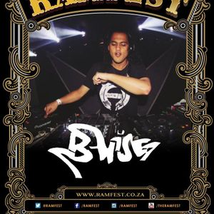 B-Wise At Ramfest Cape Town 2014
