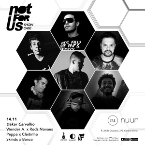 Rods Novaes x Wender A. - Live at Nuun - Not For Us Showcase - 14.11.15