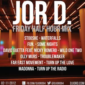 Friday Half Hour Mix 02-11-12