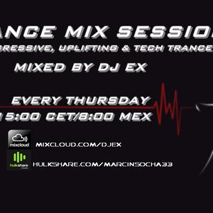 DJ Ex pres.Trance Mix Sessions ep.054 (13-08-2015) www.tempo-radio.com