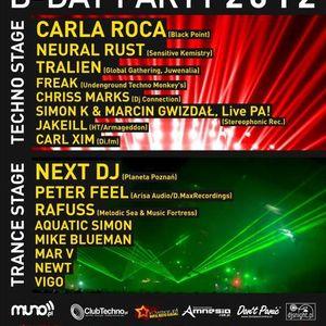 Frreeaak @ Carl Xim B-day party 28.04.2012, Poznań Tunel Club